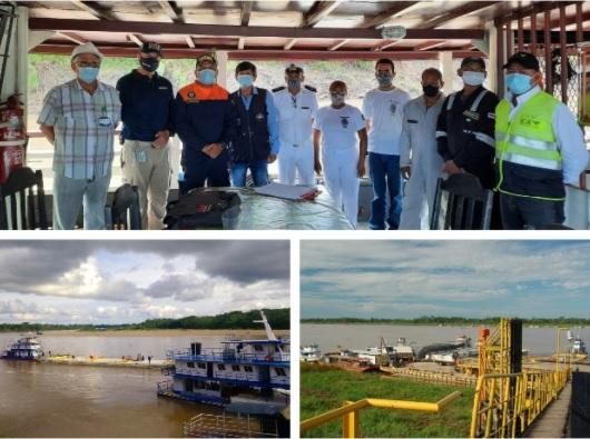 En el Amazonas el ICA hizo la recepción e inspección del buque R/M – D JOAO V de origen brasileño