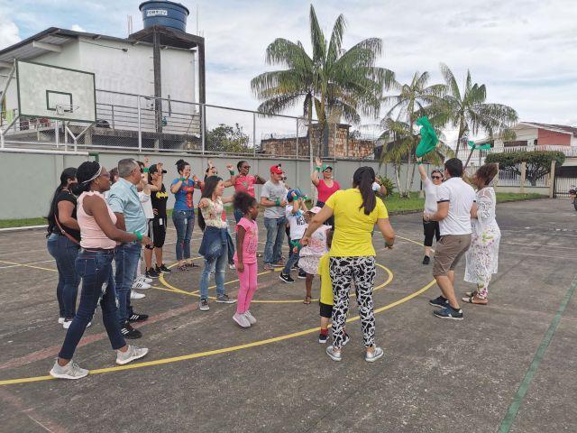 Con actividad de integración, colaboradores fortalecieron sus lazos afectivos familiares en la Regional Amazonas
