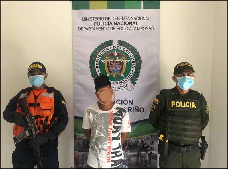 POLICIA NACIONAL CAPTURA SUJETO SEÑALADO DE COMETER ACTO SEXUAL CON MENOR DE 14 AÑOS