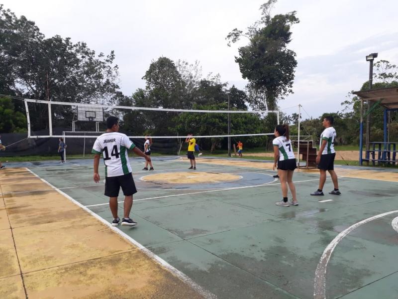 La Regional Amazonas fomenta el deporte en sus equipos de trabajo con la participación en el Torneo Interempresas