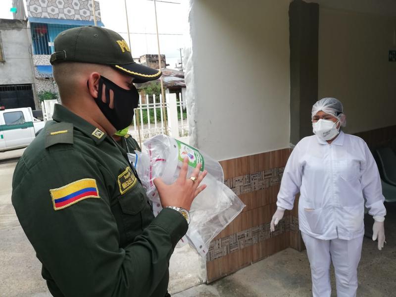 POLICÍA EN AMAZONAS COMPROMETIDA CON LOS ADULTOS MAYORES