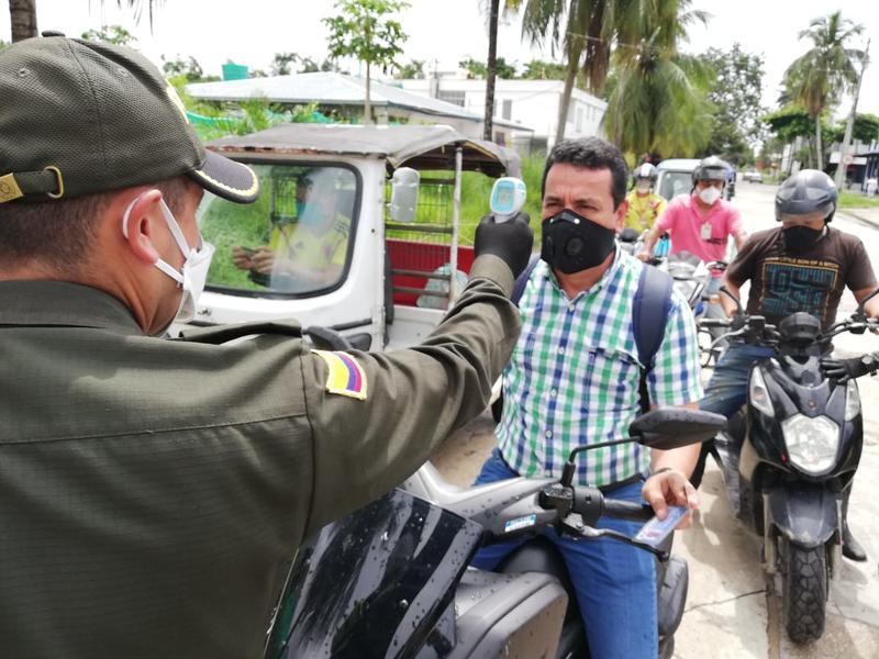 POLICÍA IMPLEMENTA DISPOSITIVO DIGITAL PARA DETECTAR POSIBLES CONTAGIOS POR EL COVID-19