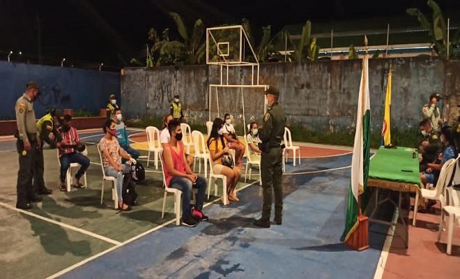 COMO ESPACIO DE INTERLOCUCIÓN CON LA COMUNIDAD, REALIZAMOS ENCUENTRO COMUNITARIO EN EL BARRIO GAITÁN