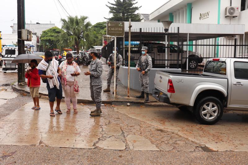 """Activo plan de seguridad y vigilancia durante la """"Semana Mayor"""" en el Amazonas"""