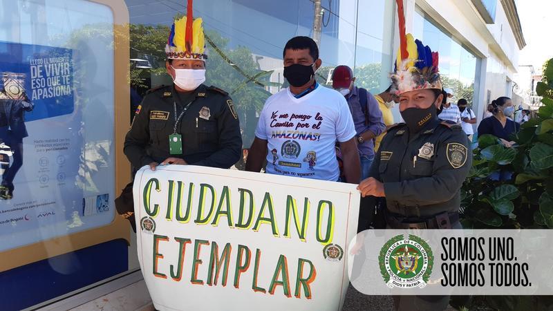 GRUPO DE PREVENCION DE LA POLICÍA NACIONAL AGRADECE A LOS CIUDADANOS POR EL COMPROMISO DE CONTRA EL COVID-19