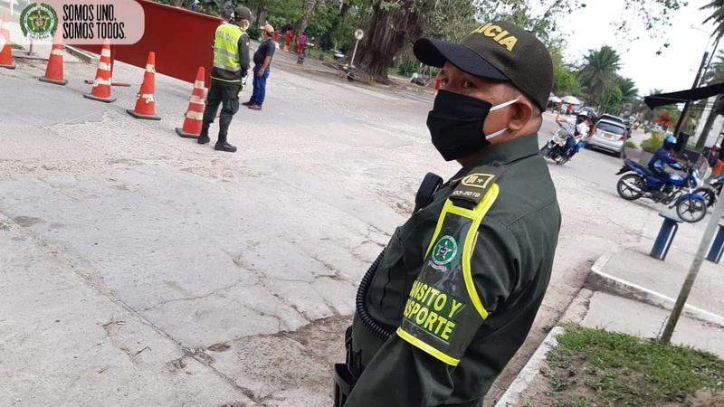 Policía Nacional Comprometidos con la Seguridad vial en Leticia