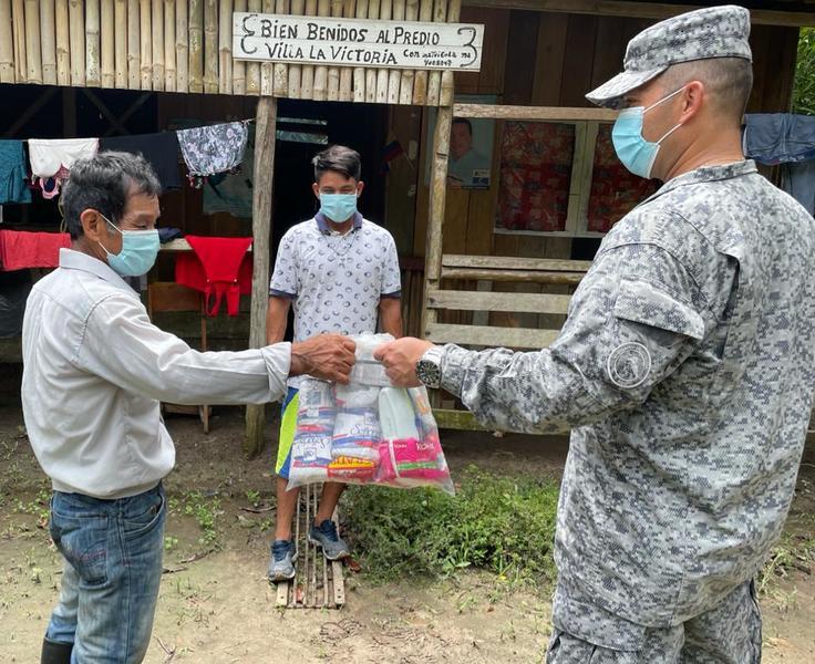 Kits de aseo para familias vulnerables de Leticia, Amazonas