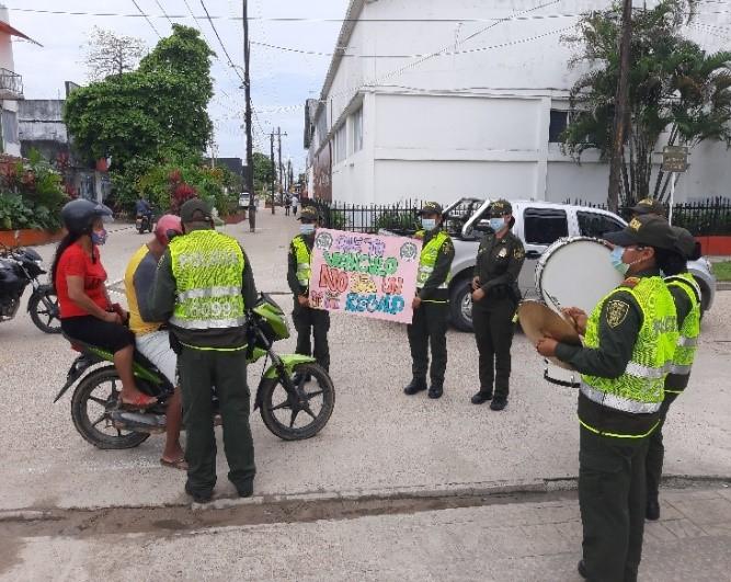 LA POLICÍA NACIONAL ADELANTA CAMPAÑA DE PREVENCIÓN CONTRA EL HURTO A MOTOCICLETAS EN EL AMAZONAS