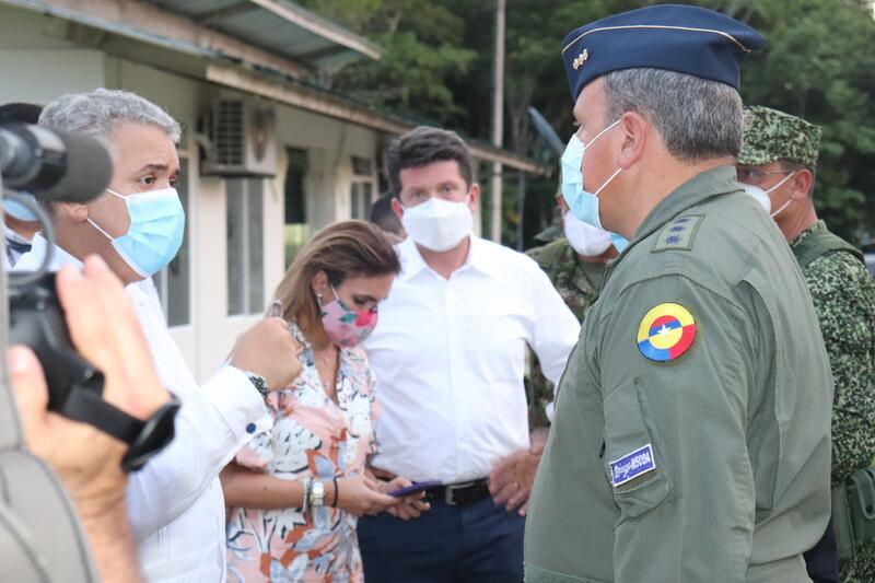 Primer mandatario de Colombia presidió consejo de seguridad en Leticia, Amazonas
