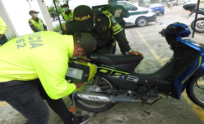 REALIZAMOS CAMPAÑA DE PREVENCIÓN CONTRA EL HURTO DE MOTOCICLETAS