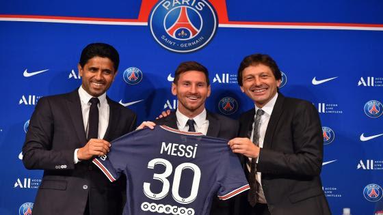 """Quiero ganar otra Champions"""": Lionel Messi como nuevo jugador del PSG"""