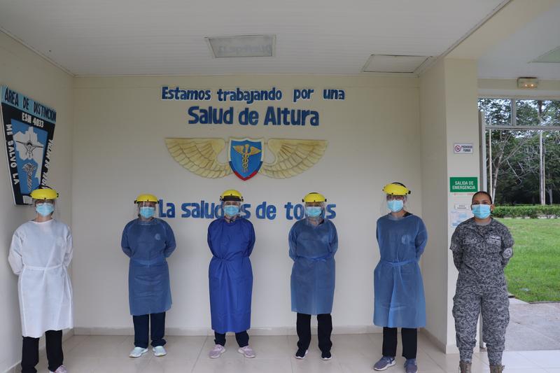 Patria, vocación y amor; motivaciones de mujeres militares en el sector salud