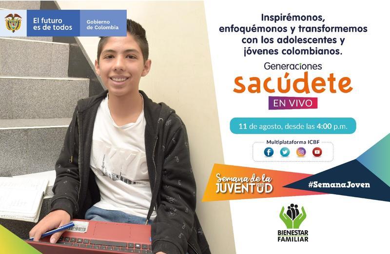 Prepárense para este 11 de agosto desde las 4 p.m., para conocer a las #GeneracionesSacúdete!!!!