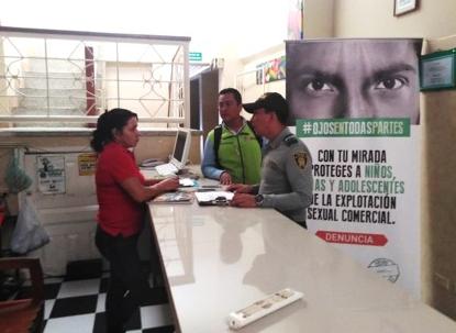LA POLICÍA NACIONAL INTENSIFICA CAMPAÑA CONTRA LA (ESCNNA)