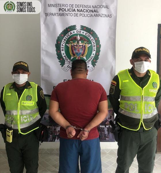 EN PUERTO NARIÑO, POLICÍA CAPTURA SUJETO POR EL DELITO DE LESIONES