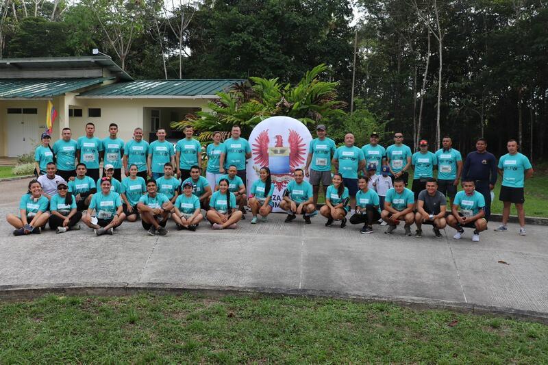 """Por los héroes de Colombia se corrieron los """"10K"""" en el Amazonas"""