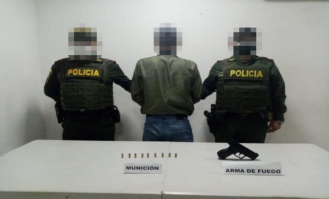 CAPTURAMOS A UN SUJETO POR EL DELITO DE FABRICACIÓN, TRÁFICO, PORTE O TENENCIA DE ARMAS DE FUEGO