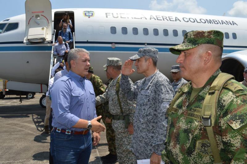 Amazonía colombiana es resguardada por la Fuerza Aérea Colombiana