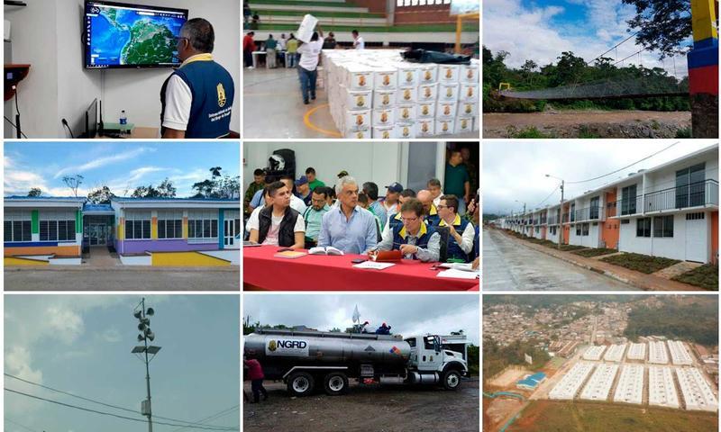 Comisión de la Contraloría General inspecciona avance de proyectos de reconstrucción de Mocoa Recibidos