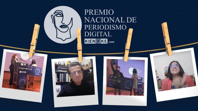 Periodismo digital de alto nivel con los ganadores del PNPD KienyKe.com
