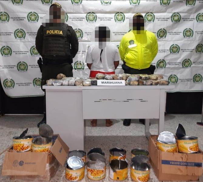 MEDIANTE REGISTRO Y ALLANAMIENTO, POLICÍA EFECTÚA CAPTURA POR ESTUPEFACIENTES