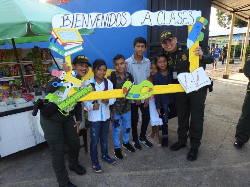 En Amazonas, acompañamos a nuestros niños en su regreso a clases