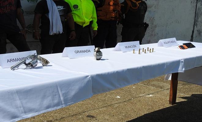 CAPTURAMOS TRES COLOMBIANOS Y DOS BRASILEROS EN OPERATIVO BINACIONAL