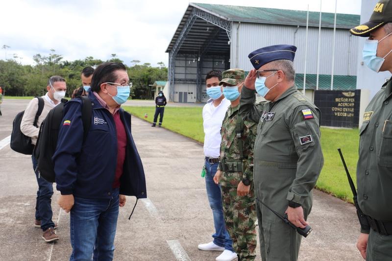 Ministro de Salud visitó el Amazonas y fue recibido por el GAAMA