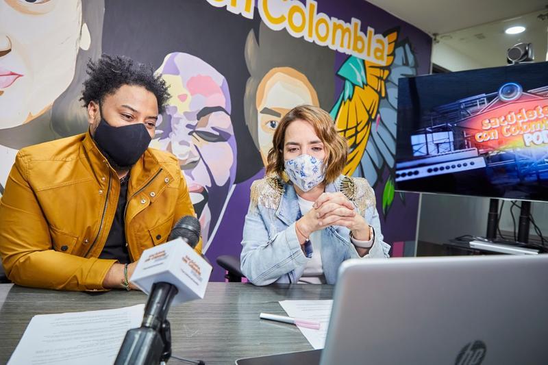 Podcast Sacúdete con Colombia llegó cargado de jóvenes talentos que transforman territorios
