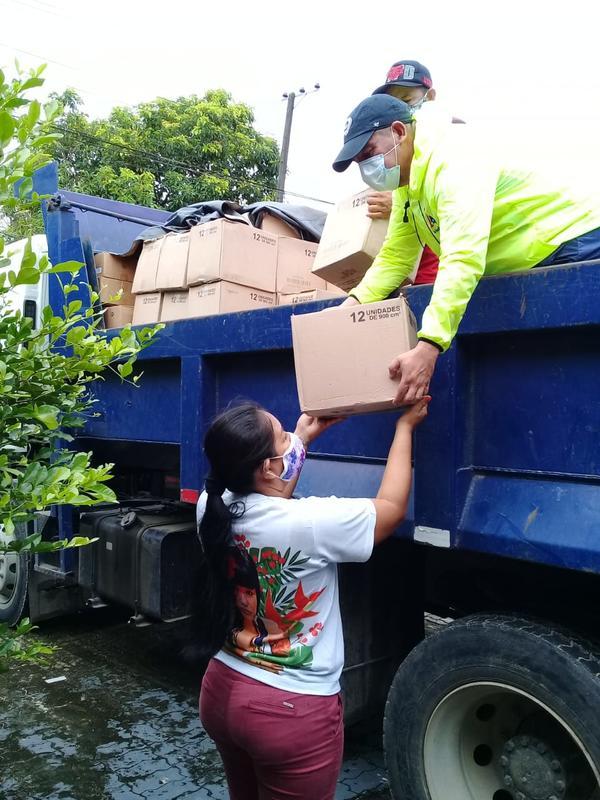 La solidaridad en tiempos de coronavirus en el Amazonas
