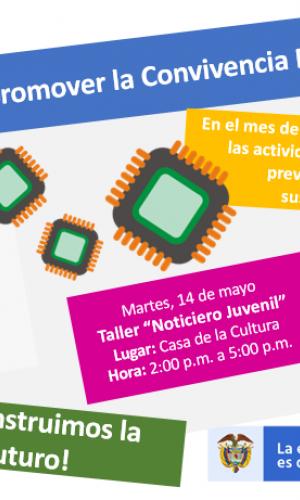 image for ¡Mayo, mes para promover la Convivencia Escolar! ¡Participa en las actividades de esta semana!