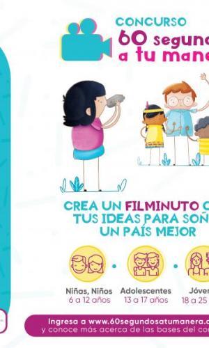 """¡CONCURSO """"60 SEGUNDOS A TU MANERA""""! ICBF y FISCALÍA"""
