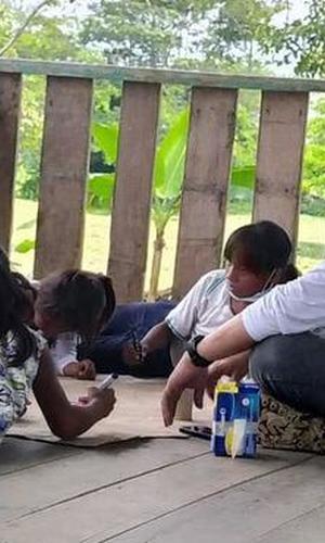 ICBF y Ejército promueven derechos de la niñez en comunidades étnicas de Leticia, Amazonas