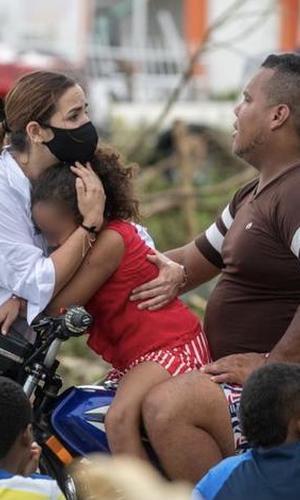 Gobierno nacional ha evacuado desde Providencia más de 300 niños y niñas para reencontrarse con sus familias en San Andrés