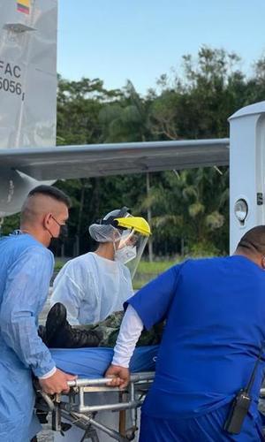Aeronave Caravan C-208 cumplió con éxito una misión de evacuación aeromédica