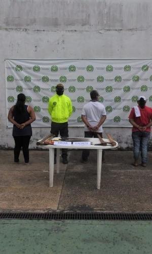 POLICIA CAPTURA A SEIS PERSONAS POR DELITOS CONTRA LOS RECURSOS NATURALES Y EL MEDIO AMBIENTE