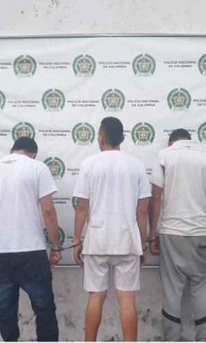Tres sujetos capturados en flagrancia por el delito de lesiones personales