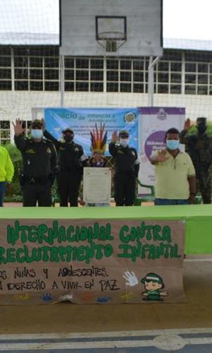 DESDE EL MUNICIPIO DE PUERTO NARIÑO – AMAZONAS, CONMEMORAMOS EL DÍA INTERNACIONAL CONTRA EL RECLUTAMIENTO INFANTIL