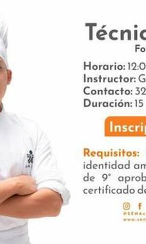 Técnico en Cocina