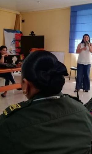 Fuerza Aérea Colombiana participa en comité DDHH y sesión departamental contra la trata de personas en el Amazonas