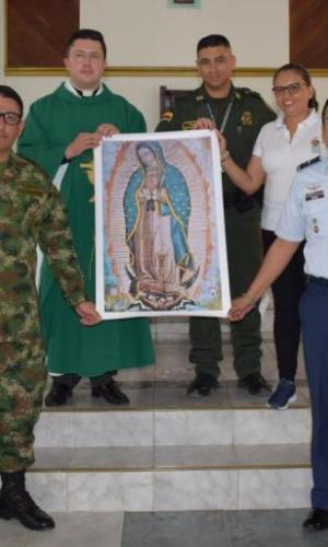 Fuerzas Militares y Policía Nacional celebran los 100 Años de la Fuerza Aérea Colombiana en el Amazonas