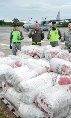 Con proyecto productivo Fuerza Aérea Colombiana busca minimizar la contaminación en el Amazonas