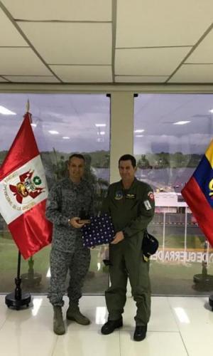 Grupo Aéreo del Amazonas participó en Reunión de Mandos Regionales en la Frontera