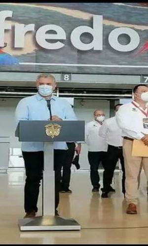 LETICIA – AMAZONAS RECIBIÓ LA VISITA DEL SEÑOR PRESIDENTE IVAN DUQUE MARQUEZ