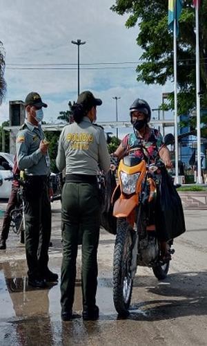 REALIZAMOS CONTROL Y VIGILANCIA EN LOS TERRITORIOS FRONTERIZOS DE BRASIL Y COLOMBIA