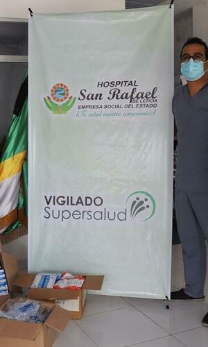 Hospital San Rafael de Leticia, recibe donación que beneficiará la atención médica en el Amazonas