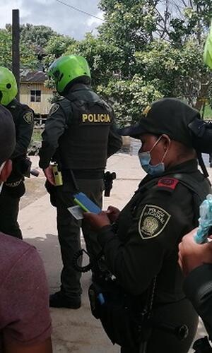 PATRULLA DEL CUADRANTE EVITA HURTO Y APREHENDE  EXTRANJERO DE DIECISÉIS AÑOS DE EDAD