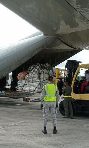 Más de mil kilogramos de material pos consumo fueron transportados desde Leticia a Bogotá