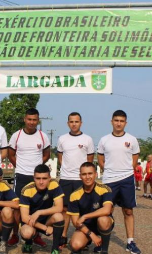 Fuerza Aérea Colombiana participó en la carrera del soldado en Brasil
