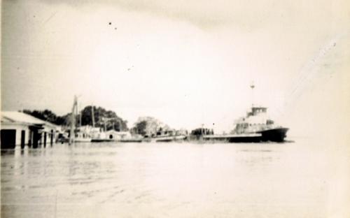 Orillas del rio en los 70